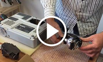 Video înlocuirii Panasonic